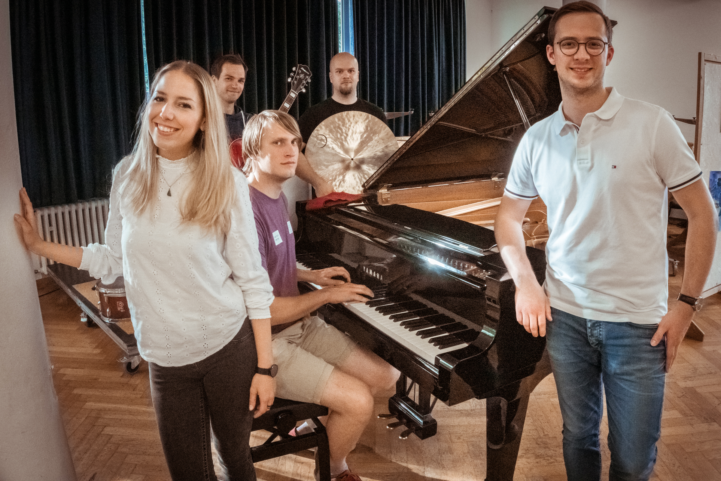 Foto der Rhythmusgruppe